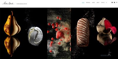 Site WordPress Photographe culinaire